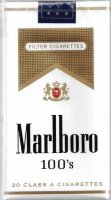 Marlboro gold pack 100 S (USA) Soft