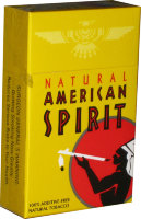 American Spirit Mellow Taste Natural Tobacco Yellow (USA)