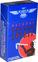 American Spirit Full Bodied Taste U.S. Tobacco Dark Blue (USA)
