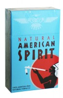 American Spirit Full Bodied Taste Natural Tobacco Blue (USA)