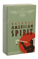 American Spirit Balanced Taste Natural Tobacco Celadon (USA)