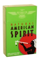 American Spirit Menthol Mellow Taste Natural Tobacco Green (USA)