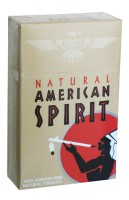 American Spirit Non Filter Natural Tobacco Brown (USA)