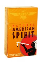 American Spirit Smooth Mellow Taste Natural Tobacco Orange (USA)