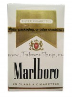 Marlboro gold pack (USA)