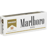 Marlboro gold pack 100 S (USA)
